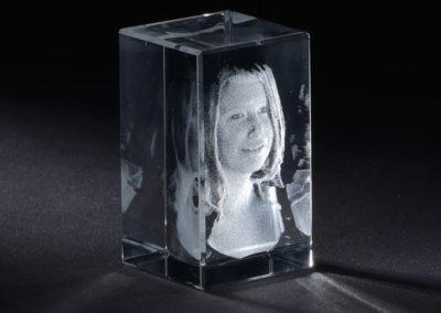Glasgravur 3D klein