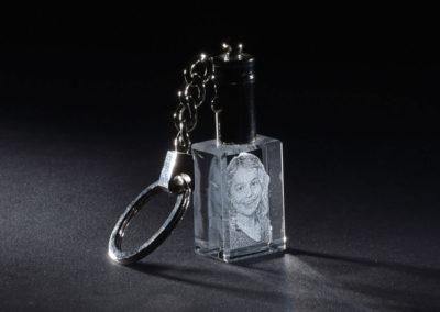 Glasgravur Schlüsselanhänger