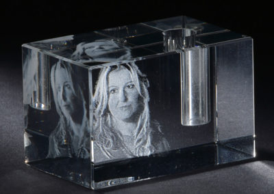 Glasgravur Stifthalter